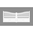 Portail PVC 2 Vantaux PYRENEES