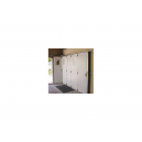 Porte de Garage à Déplacement Latéral Rainurée
