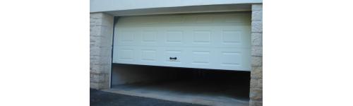 Porte de garage sectionnelle mjp portes et - Automatisme porte de garage sectionnelle ...